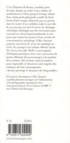 Tribulations plastiques - 4ème de couverture - Format classique
