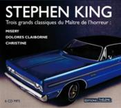 Vente livre :  Misery ; Dolores Claiborne ; Christine  - Stephen King