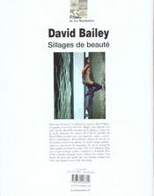 David Bailey Sillages De Beaute - 4ème de couverture - Format classique