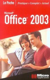 Office 2003 - Intérieur - Format classique