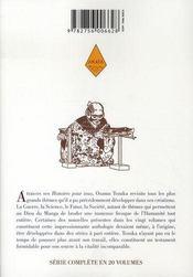 Tezuka, histoires pour tous t.4 - 4ème de couverture - Format classique