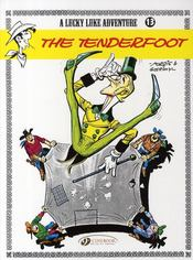 Vente livre :  Lucky Luke T.13 ; the tenderfoot  - Rene Goscinny - Morris
