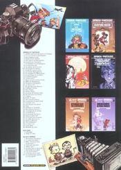 Spirou et Fantasio t.6 ; la corne de rhinocéros - 4ème de couverture - Format classique