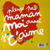 Le plus beau livre du monde pour ma maman chérie d'amour - 4ème de couverture - Format classique