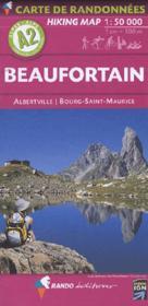 Beaufortain 1/50.000 - Couverture - Format classique
