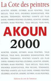 La Cote Des Peintres 2000 - Intérieur - Format classique