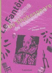 Le fantôme de Shakespeare - Couverture - Format classique