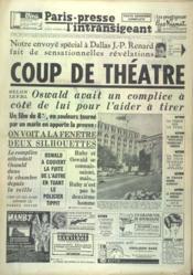 Paris Presse L'Intransigeant N°5901 du 28/11/1963 - Couverture - Format classique