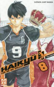 Vente livre :  Haikyu !! les as du volley T.8  - Haruichi Furudate