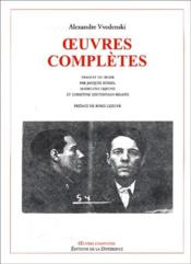 Oeuvres Completes ; Oeuvres Complètes - Couverture - Format classique