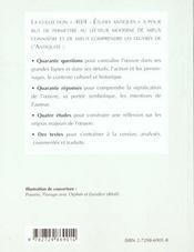 Ovide Metamorphoses Livre X - 4ème de couverture - Format classique