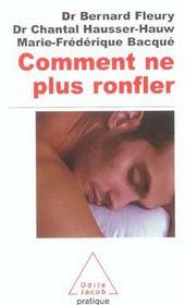 Comment Ne Plus Ronfler - Intérieur - Format classique