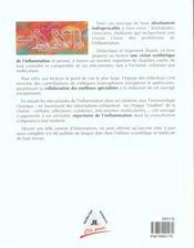 Inflammation - 4ème de couverture - Format classique