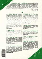 Les cahiers de l'indépendance ; de gaulle au regard de la haine de soi - 4ème de couverture - Format classique