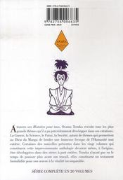 Tezuka, histoires pour tous t.5 - 4ème de couverture - Format classique