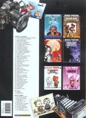 Spirou et Fantasio t.8 ; la mauvaise tête - 4ème de couverture - Format classique