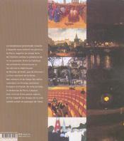 Tableaux Parisiens - Du Moyen Age à nos jours ; Six siècles de peinture en capitale - 4ème de couverture - Format classique