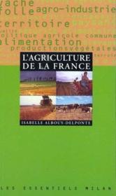 L'agriculture de la france - Couverture - Format classique