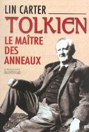 Tolkien, le maître des anneaux - Intérieur - Format classique