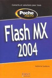 Poche Micro Flash Mx 2004 - Intérieur - Format classique