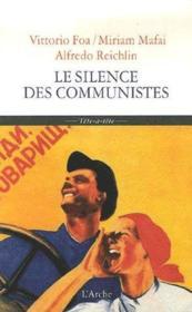 Silence des communistes (le) - Couverture - Format classique