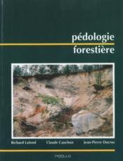Pédologie forestière - Couverture - Format classique