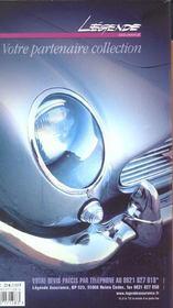 La cote automobile de collection (édition 2002) - 4ème de couverture - Format classique