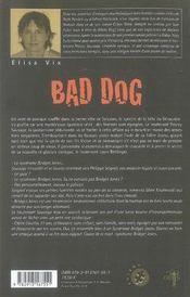 Bad dog - 4ème de couverture - Format classique
