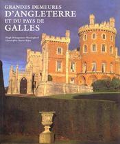 Grandes Demeures D'Angleterre Et Du Pays De Galles - Intérieur - Format classique
