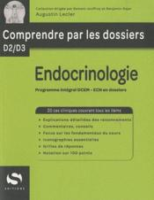 Endocrinologie  - Collectif