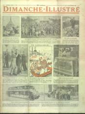 Dimanche Illustre N°290 du 16/09/1928 - Couverture - Format classique