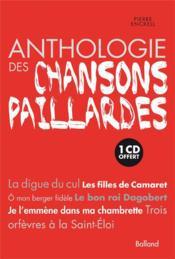 Anthologie des chansons paillardes - Couverture - Format classique