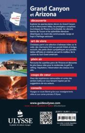Grand Canyon et Arizona - 4ème de couverture - Format classique