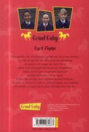 Grand galop t.698 ; esprit d'équipe - 4ème de couverture - Format classique