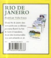 Petit pop-up panoramique t.9 ; Rio de Janeiro - 4ème de couverture - Format classique