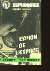 L'Espion De L'Espace - Couverture - Format classique