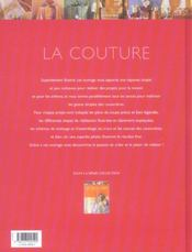 Atlas pratique de la couture - 4ème de couverture - Format classique