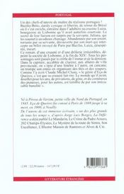 Le cousin Bazilio - 4ème de couverture - Format classique