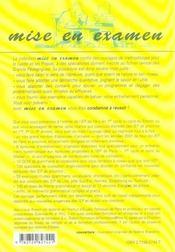 L'Anglais Dans Les Instituts D'Etudes Politiques Paris Et Province Admissions En 1er Et 2e Cycles - 4ème de couverture - Format classique