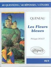 Queneau les fleurs bleues - Intérieur - Format classique