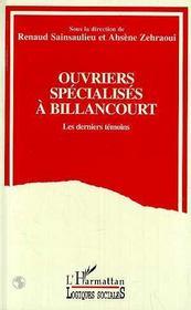 Ouvriers Specialises A Billancourt - Intérieur - Format classique
