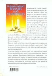 Le Grand Livre Des Bougies Et Des Chandelles - 4ème de couverture - Format classique