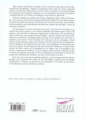 Au Visiteur Lumineux. Des Iles Creoles Aux Societes Plurielles. Melan Ges Offerts A Jean Benoist - 4ème de couverture - Format classique