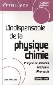 L'indispensable de la physique-chimie (3e édition) - Intérieur - Format classique