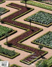 L'art des jardins en europe - 4ème de couverture - Format classique