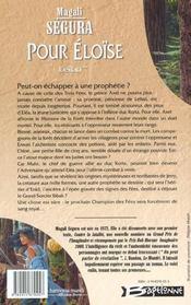 Leilan T.2 ; Pour Eloise - 4ème de couverture - Format classique