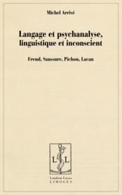 Langage et psychanalyse, linguistique et inconscient - Couverture - Format classique