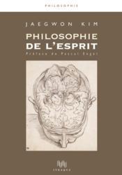 Philosophie de l'esprit - Couverture - Format classique