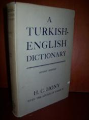 An english-turkish dictionary. - Couverture - Format classique