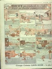 Dimanche Illustre N°291 du 23/09/1928 - 4ème de couverture - Format classique